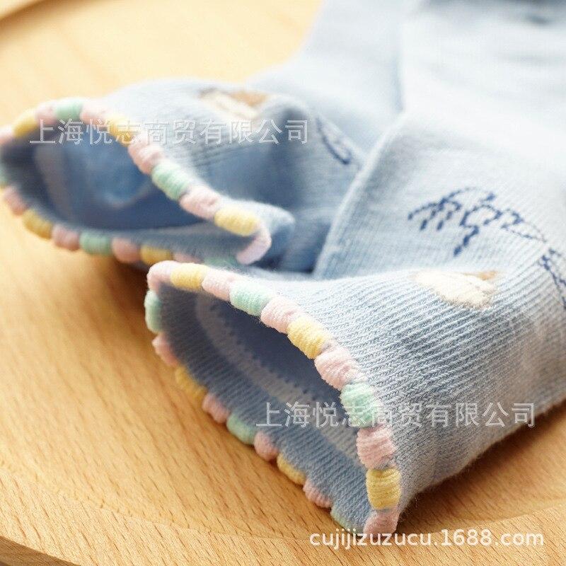 Spring And Autumn New Products Children's Socks Girls Short Socks Cotton Socks Children Athletic Socks Big Boy Socks Ice Cream S