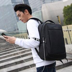 """Image 5 - Tigernu Thương Hiệu Sạc USB Nam Ba Lô Chống Trộm 15.6 """"Laptop Ba Lô Công Sở Nữ Học Mochila Nam Du Lịch túi"""