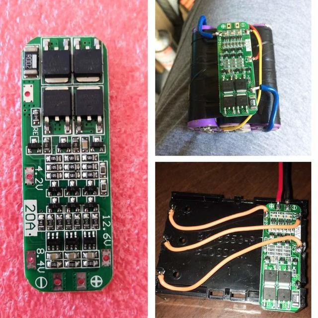 Aokin 3S 20A 12.6V Li-ion Lithium Battery 18650 Charger Protection Board PCB BMS Cell Charging Protecting Module Accessories 3