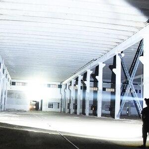 Image 5 - Linterna LED potente XHP50, resistente al agua, aleación de aluminio a prueba de explosiones para iluminación profesional al aire libre, 3 uds.