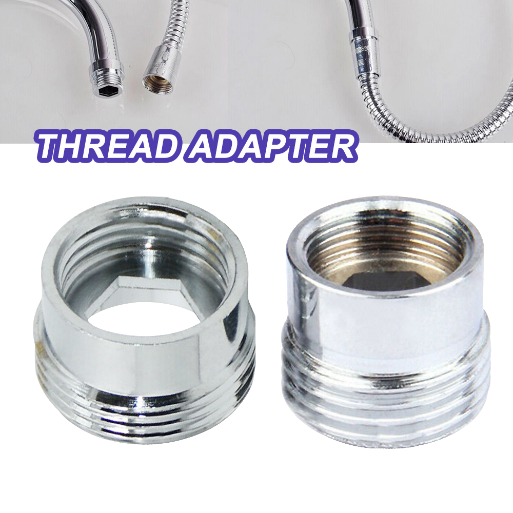 Faucet Metal Adaptor Inside Thread Water Saving Kitchen Tap Aerator Connector 3