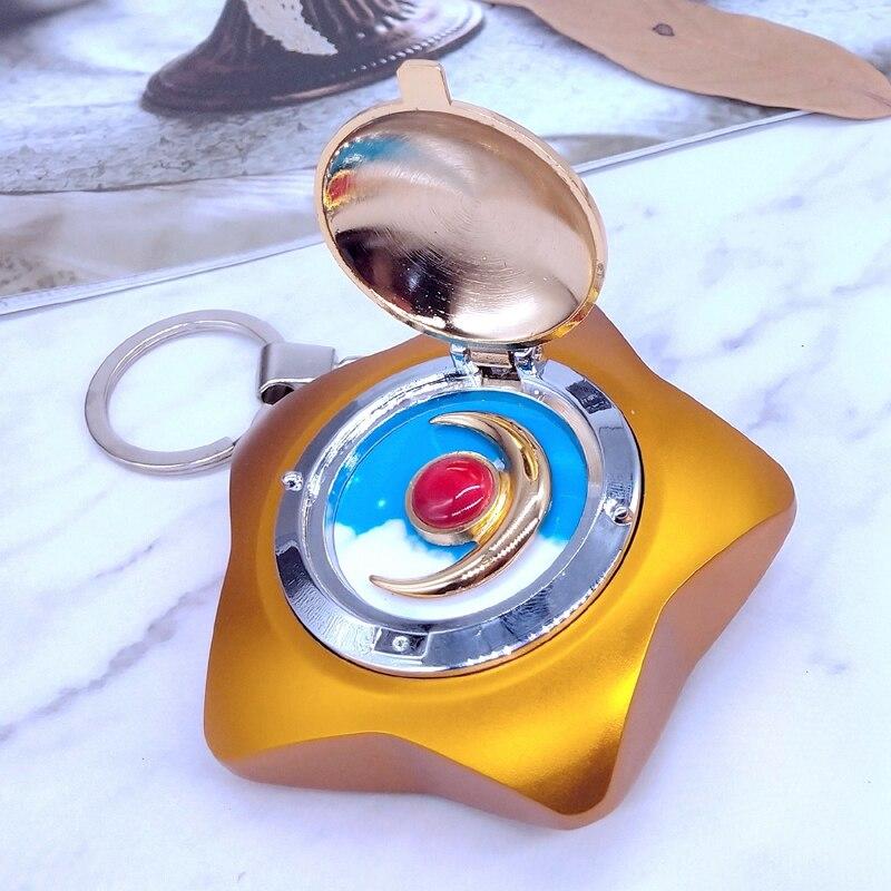 New Sailor Moon Moonlight Memory Star Locket Starlit Sky Upgraded Music Box Gift