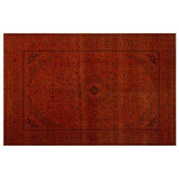 Handmade Türkis Vintage Persische Bereich Teppich 286x447 Cm-9 '5''X14'8''