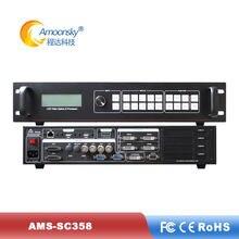 O splicer video do diodo emissor de luz AMS-SC 358 expande sdi como ouve vp9000 opção completa mulit-janela processador video da parede para o modelo conduzido exterior