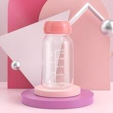 Baby 125ML Breast Milk Feed Bottles Collection Storage Neck Wide Storage Bottle C5AF