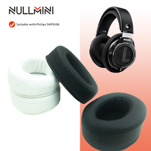 NullMini استبدال وسادات الأذن لشركة فيليبس SHP9500 سماعات جلدية كم سماعة الأذن