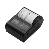 HOT-Portable Wireless BT 58Mm Thermal Receipt Printer Mini Personal Bill Mobile Printer for IOS Android Windows