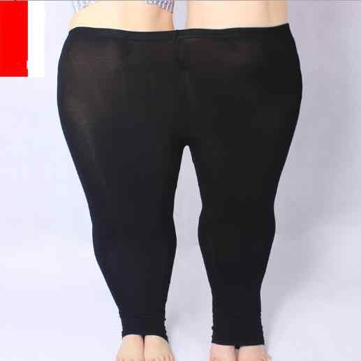 Donne pantalon Pantaloni 2020 2020 Più Il Formato 5XL Skinny Sottile Della Matita Elastico in Vita Pantaloni di Alta Strenchy Modale Capris Per Le Donne m838