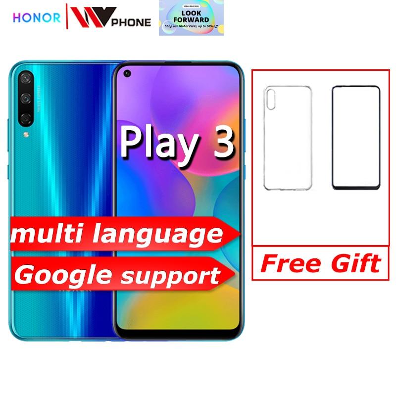 Фото. Honor play 3 смартфон 4000 мАч батарея Kirin 710F 48MP камера Android 9,0 6,39 дюйм ips 1560X72