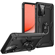 Armor Shockproof Case For Samsung Galaxy A51 A71 A21S A31 A40 A70 A11 S21 Plus Ultra S10 Note 10 20 Ultra Magnetic Ring Stand