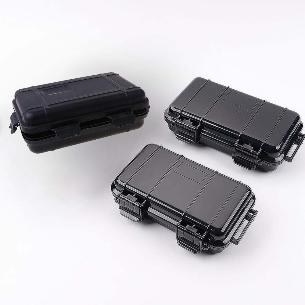 OOTDTY Waterproof Shockproof Box Phone Electronic Gadgets Airtight Outdoor Case