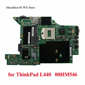 Independent Video Card Motherboard for Lenovo ThinkPad L440 Laptop Mainboard 00HM546 Tested 100% Work