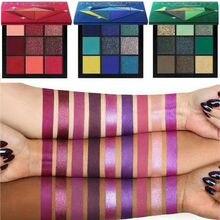 Eyeshadow Palette Beauty Eye Shadow 9 Shades Colors Precious Stones