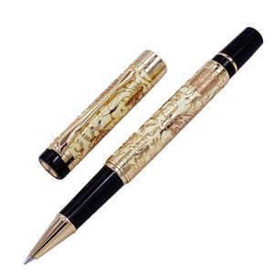 Image 4 - Penna a sfera di lusso di alta qualità Jinhao 5000 Dragon Clip dorata penna a sfera direzionale cancelleria penna regalo per ufficio aziendale