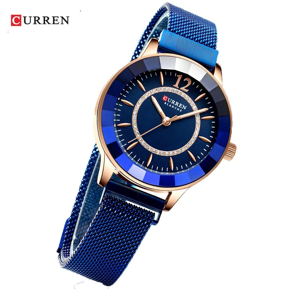 curren Fashion Women's watch women luxury watches for Ladies Watches women retro clocks Girl Wrist watch female 2020 Clock gifts