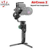 Moza AirCross 2 3 Axis Handheld Gimbal Stabilizer for DSLR Mirrorless Camera for Sony A7 Canon 5D vs Feiyu AK4500 DJI Ronin SC