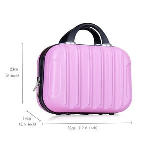 Image 4 - Women Professional Makeup Bag Suitcase Waterproof Travel Cosmetic Bag Beautician Toiletries Organizer Female Make up Bags Case