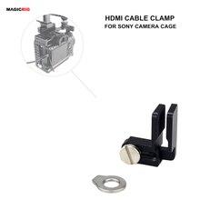 MAGICRIG abrazadera de Cable HDMI, abrazadera de bloqueo HDMI para A7RIII /A7RII /A7III /A7II /A7SII /A7M3 carcasa de camara DSLR equipo de fotografía