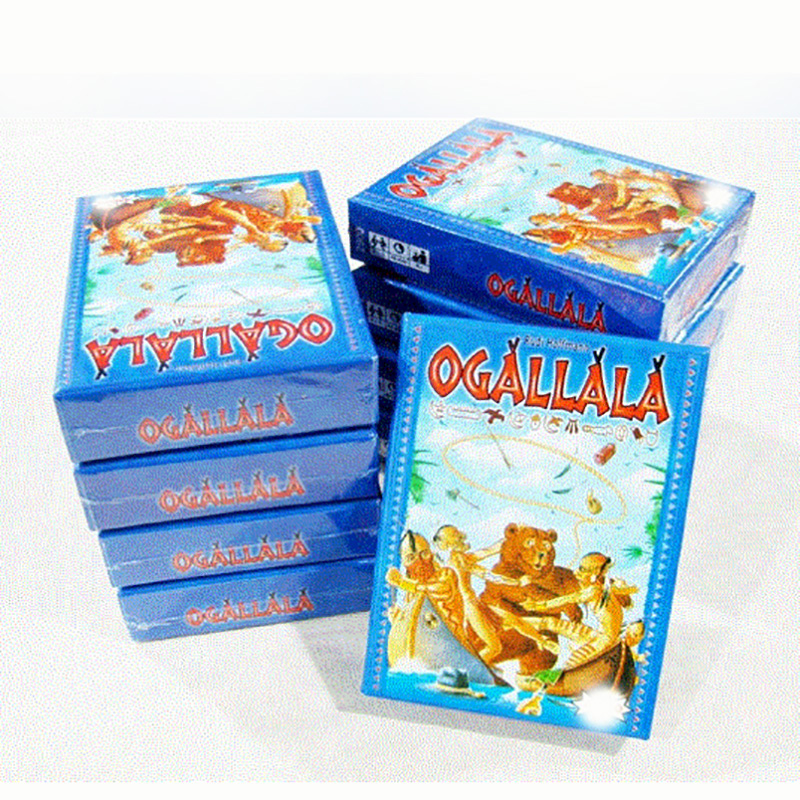 Ogallala Board Game Funny Cards Game For 2-5 Players Send English Instructions