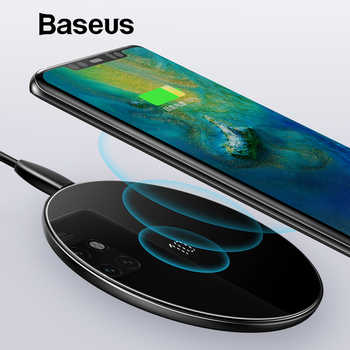 Baseus Special Design 10W Qi Wireless Charger For Huawei P30 P30 Pro Fast Wireless Charging Pad For Mate 20 Pro Samsung S10 S9 8 - DISCOUNT ITEM  20% OFF All Category