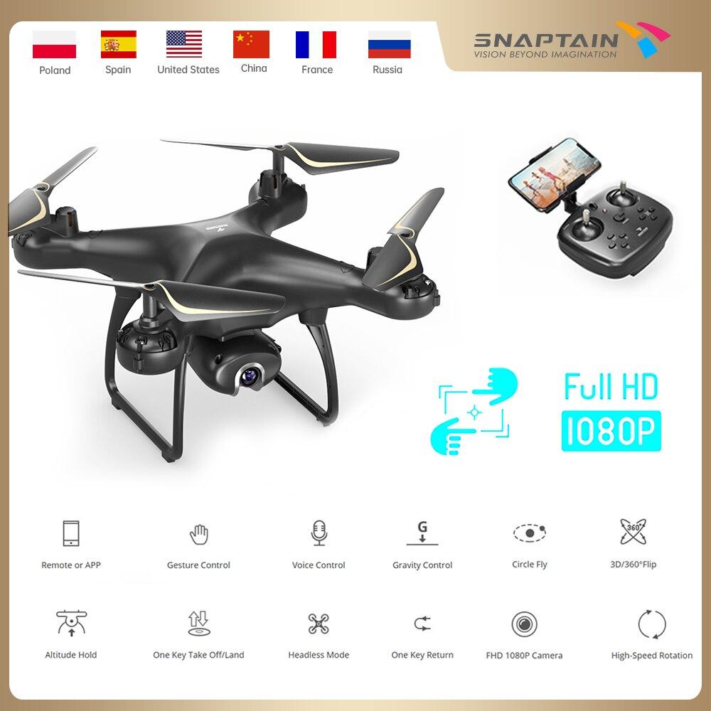 Snapback SP650 Drone con videocamera 1080P/2K HD videocamera Live Drone controllo dei gesti vocali