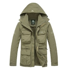 Männer Taktische Jacke Herbst Schnell Trocken 2 in 1 XXXL Military Style Armee Mantel Männlichen 2020 Multi Taschen mit kapuze Windjacke Wasserdicht