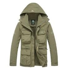 Veste tactique à capuche pour homme, manteau militaire 2 en 1, à séchage rapide, manteau militaire, poches multiples homme 2020, coupe vent étanche