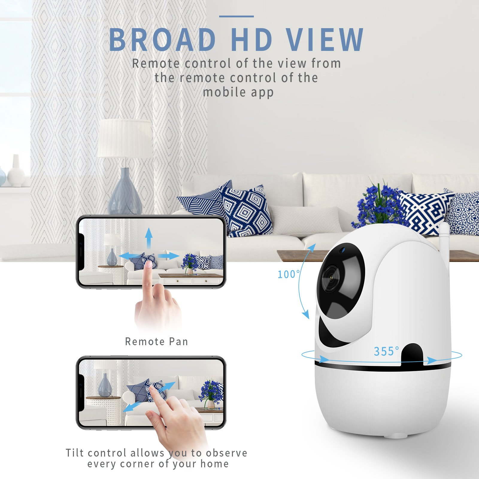 Smart Wifi Auto Tracking Human Cloud Camera 1080P Wireless IP Camera  Home Security Surveillance CCTV Network