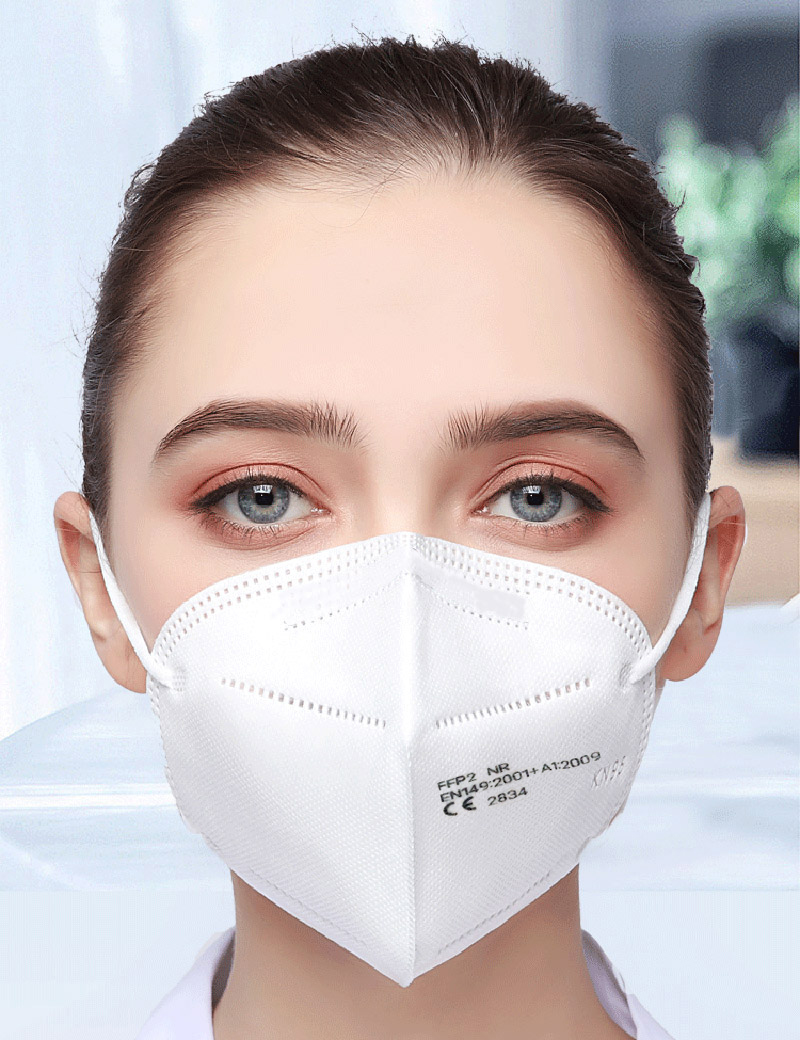 5 Layers FFP2 Mask Safety Respirator Protective Mask Face KN95 Masks Mouth Dustproof Reuseable FAST SHIPPING Home & Garden