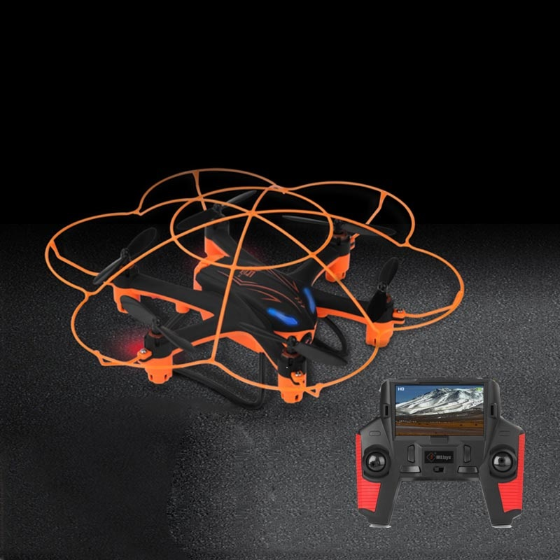 Dron FPV RC de transmisión en tiempo real de 5,8G con cámara HD una tecla de retorno modo sin cabeza RC Quadcopter RTF vs regalos de juguetes X8G X5UW rc