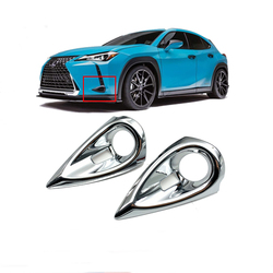 Dla Lexus UX200 UX250h UX260h 2019 2020 przednia osłona przeciwmgielna odlewnictwo głowica przeciwmgielna ochrona akcesoria do ramek
