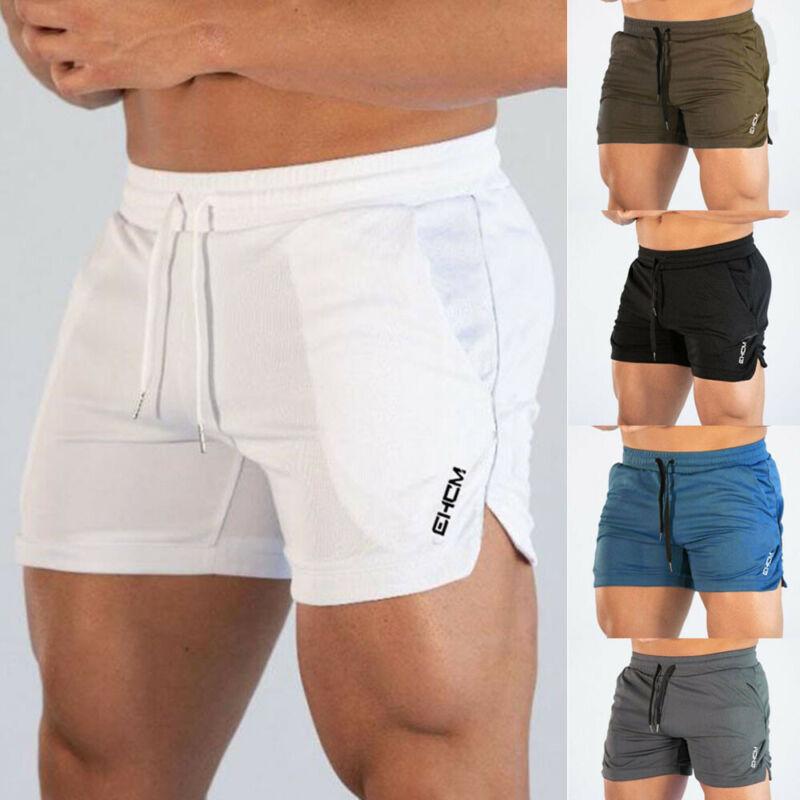 Mens Running Shorts Training Shorts Workout Bodybuilding Gym Sports Men Casual Clothing Male Fitness Jogging Training Shorts 1