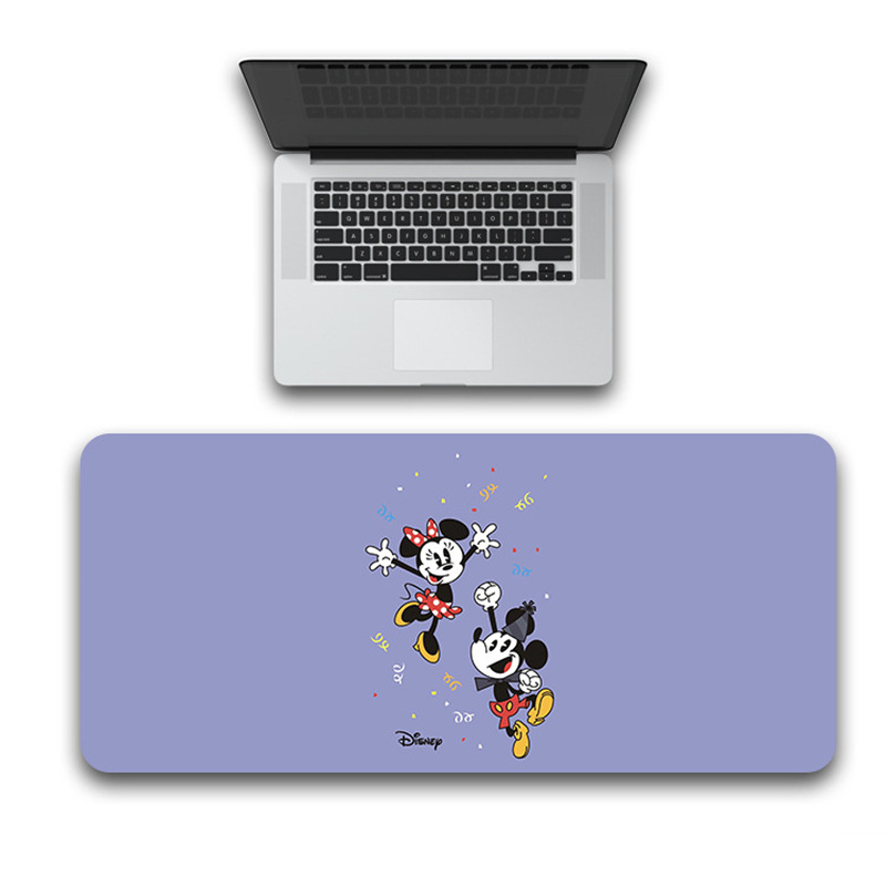 Girls 80x30cm Large Minnie Mickey Mouse Pad GamerWaterproof  Desk Mat Computer Mousepad Keyboard Table Cover Birthday  Gift