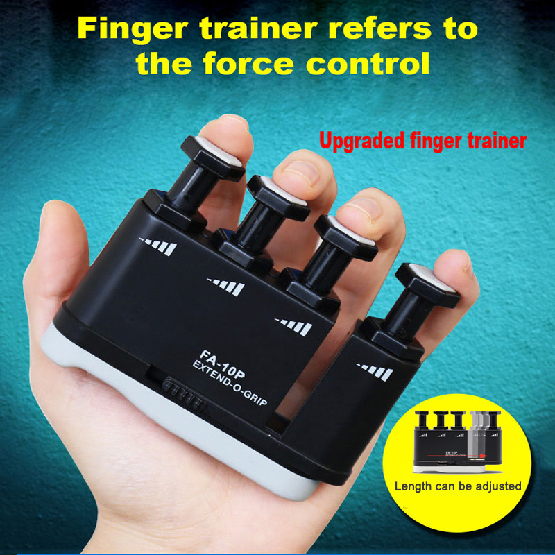 Finger Trainer Exerciser Hand Grip  Finger Piano Guitar Finger Sensitivity Strength Power Practice Trainers
