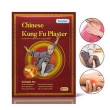 8Pcs Chinese Kung Fu Pain Relief Patches Medicated Plaster Knee Shoulder Joint Adhesive Medicine Herbal Stickers Massager