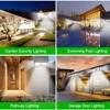 Outdoor Lighting Solar Motion Sensor Light Bulb 268 LED Solar Power Lamp Waterproof for Garden Decoration Street Security Lights 6