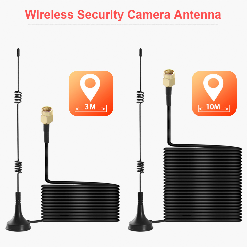 Clearance SaleBOAVISION Antenna Extender-Cable Wifi-Extension Bullet-Ip-Camera for Wireless PTZ Sucker