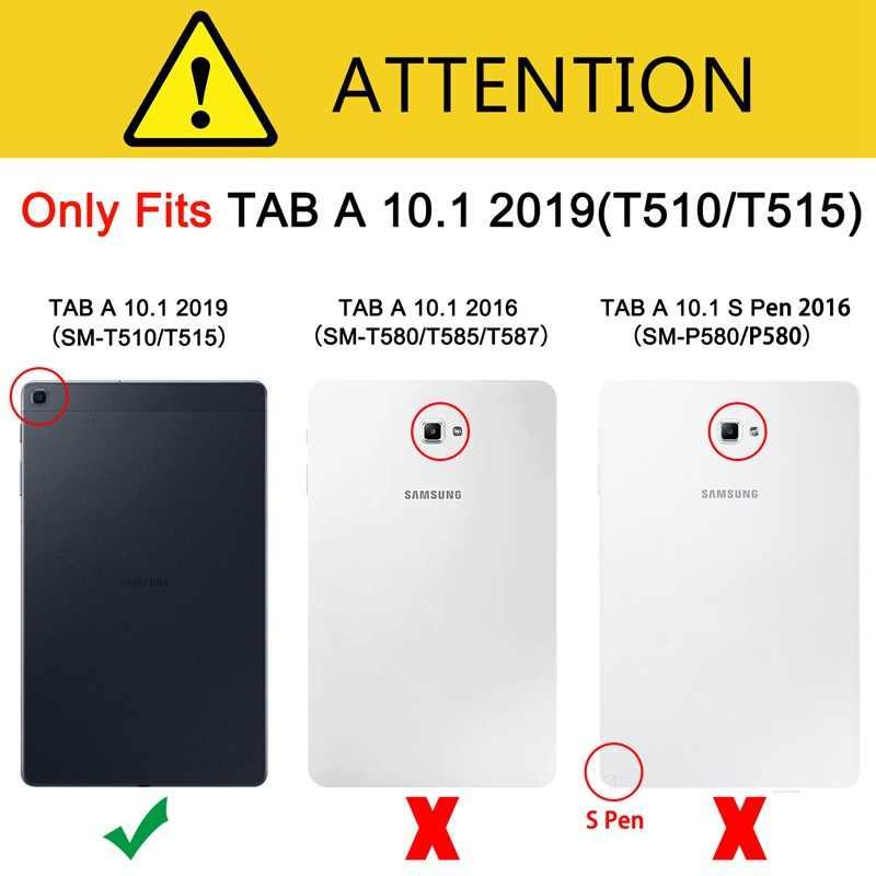 Fashion Melukis Case untuk Samsung Galaxy Tab A 10.1 2019 T510 T515 SM-T510 / SM-T515 Tablet Shell