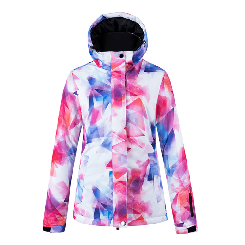 Hot Arctic Queen Brand Waterproof Windproof And Warm Fabric Jacket Women's Skiing And Snowboarding Jackets