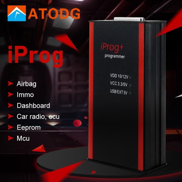 Iprog פרו מתכנת תמיכה IMMO + קילומטראז תיקון + כרית אוויר איפוס עד שנה 2019 להחליף Carprog מלא Digiprog III טנגו
