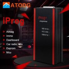 Iprog pro programador suporte immo + correção de quilometragem + airbag redefinir inclinação ano 2019 substituir carprog digiprog iii tango