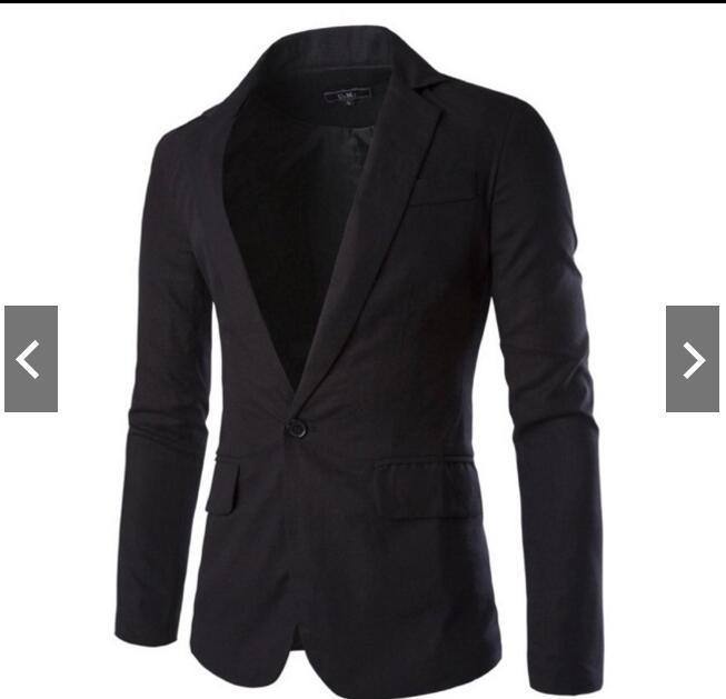 Spring Clothing New Style Men'S Wear Linen Solid Color Slim Fit Suit Men's Casual AliExpress Coat