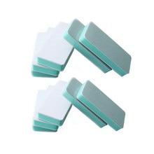 TinWong 10 Pcs Nail Art Double-Sided Polishing Block for Manicure Buffer Smooth Shine Tool.