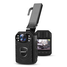 Boblov KJ21 Body Cam HD 1296P DVR Video Recorder Security Camera IR Night Vision Wearable Mini Camcorders Police Camera
