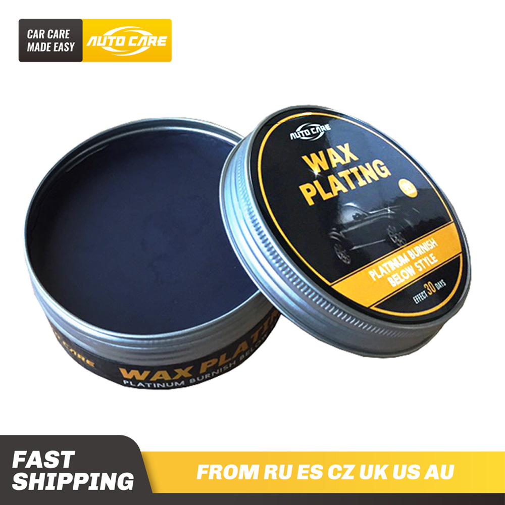 230g Car Black Wax Hard Glossy Wax Cystal Paint Surface Coating Care Plating Set Layer Covering  Formula Super Waterproof Film