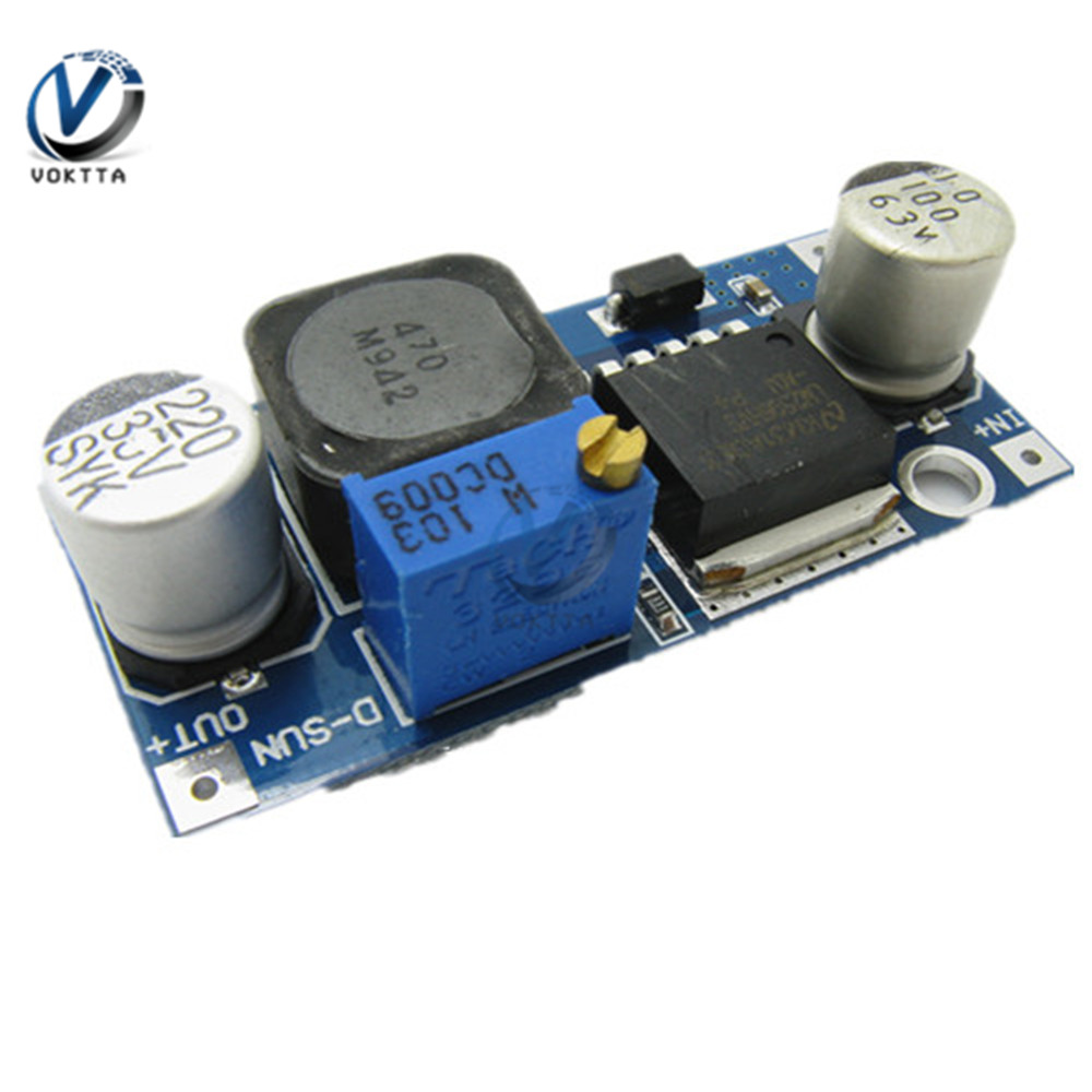 5PCS DC-DC LM2596HVS LM2596HV Einstellbare Step Down Buck Converter Power <font><b>Transformator</b></font> Modul DIY DC 12V <font><b>24V</b></font> image