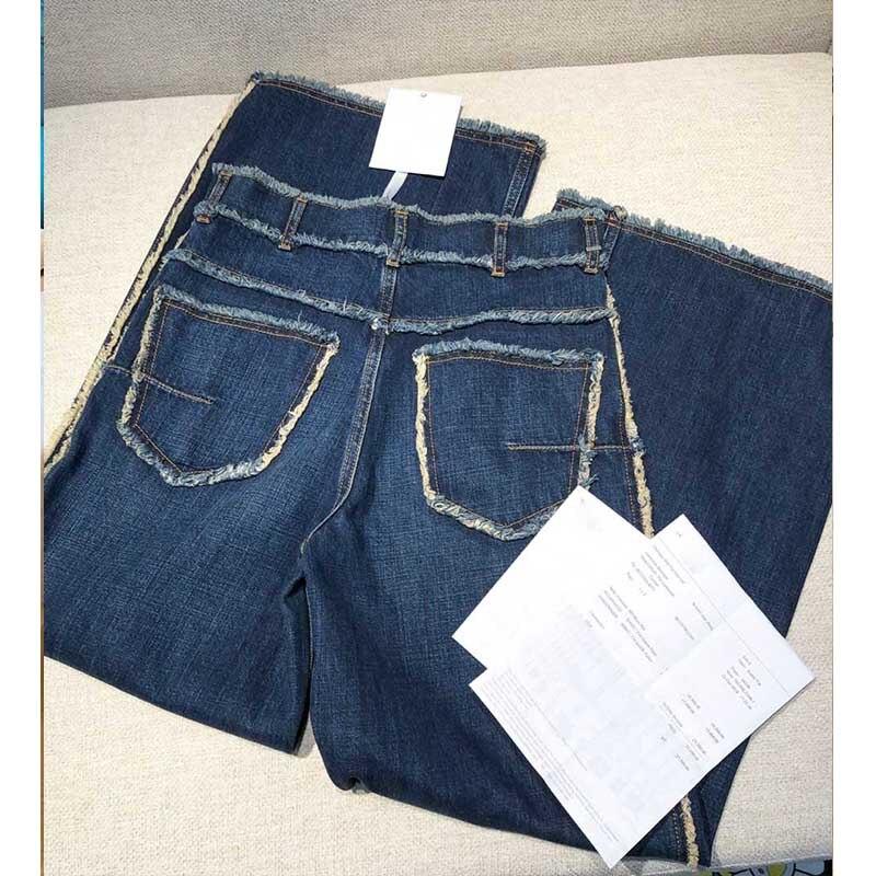 Высокое качество, повседневные винтажные Эластичные Обтягивающие зимние джинсы, женские узкие брюки с карманами, женские осенние длинные д... - 4