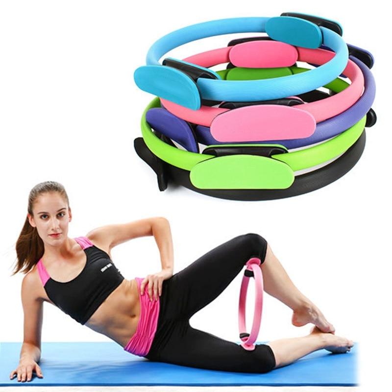 1PCs Professional Yoga Circle Pilates Sport Magic Ring Women Fitness Kinetic Resistance Circle Gym Workout Pilates Accessories