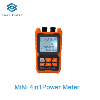 Multifunction Mini 4 in 1 Optical Power Meter  Visual Fault Locator Network Cable Test optical fiber tester 5km 15km VFL - discount item  15% OFF Communication Equipment