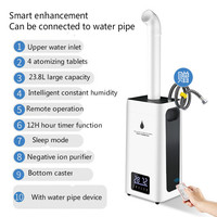 New H 550 Humidifier 23.8L Large Capacity Industry Air Humidifier Commercial Diffuser Sprayer Humidification Spray Machine